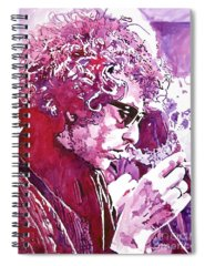 Bob Dylan Rocks Spiral Notebooks