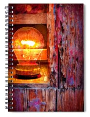 Bulb Spiral Notebooks