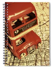 City Scape Photographs Spiral Notebooks