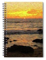Big Sur Digital Art Spiral Notebooks