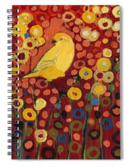 Canary Spiral Notebooks