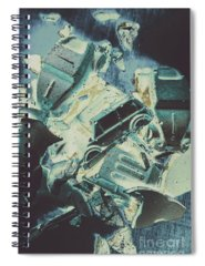 Car Part Photographs Spiral Notebooks