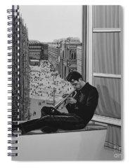 Jazz Singer Spiral Notebooks