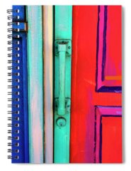 Vivid Mixed Media Spiral Notebooks