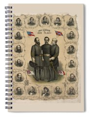 Civil War Spiral Notebooks