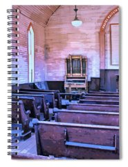 Bodie Ghost Town Mixed Media Spiral Notebooks