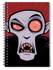 Vector Illustration Spiral Notebooks
