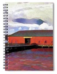 Dock Digital Art Spiral Notebooks