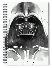 Black Spiral Notebooks