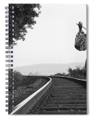 Black And White Nude Spiral Notebooks