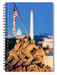 Famous Cemeteries Photographs Spiral Notebooks