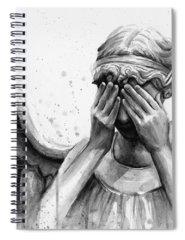 Angel Spiral Notebooks