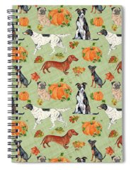 Designs Similar to Dogs In Pumpkin Patch-a
