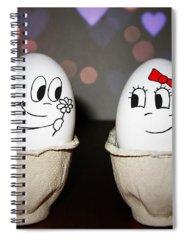 Egg Photographs Spiral Notebooks