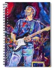 Eric Clapton Spiral Notebooks