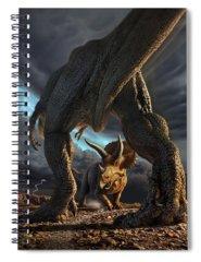 Beast Spiral Notebooks