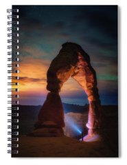 Delicate Arch Spiral Notebooks