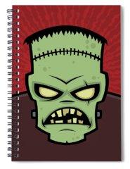 Monster Spiral Notebooks