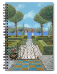 Italian Architecture Paintings Spiral Notebooks
