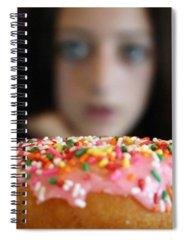 Hunger Photographs Spiral Notebooks