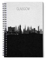 Visit Scotland Spiral Notebooks