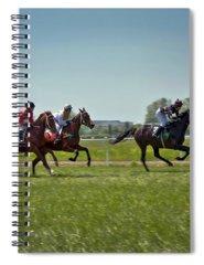 Jockeys Photographs Spiral Notebooks