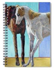 Sighthound Spiral Notebooks
