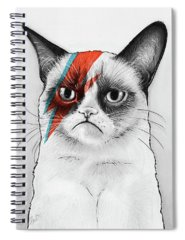 Print Drawings Spiral Notebooks