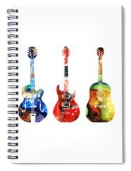 Jazz Music Spiral Notebooks