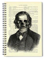 Trick Or Treat Digital Art Spiral Notebooks