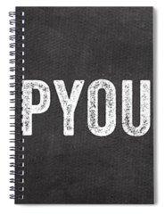 Gym Spiral Notebooks