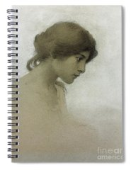 Portrait Drawings Spiral Notebooks