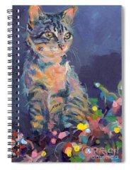 Tabby Spiral Notebooks