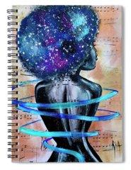 Blues Music Spiral Notebooks