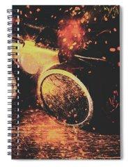 Metalwork Spiral Notebooks