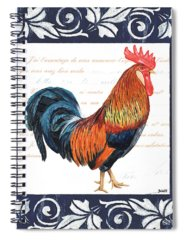 Chicken Paintings Spiral Notebooks