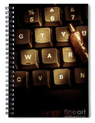 Virus Photographs Spiral Notebooks