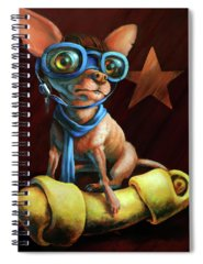 Chihuahua Spiral Notebooks
