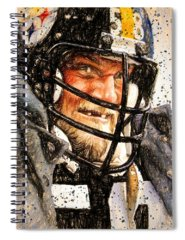 Linebacker Spiral Notebooks