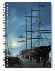 Rigging Spiral Notebooks