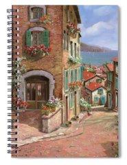 Town Spiral Notebooks