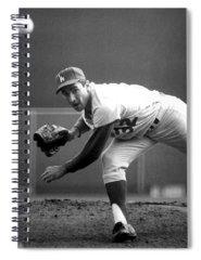 Baseball Spiral Notebooks