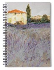 Violets Spiral Notebooks