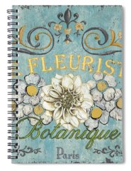 Flower Garden Spiral Notebooks