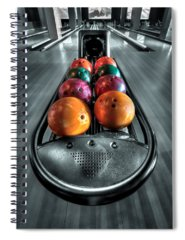 Bowling Alley Spiral Notebooks