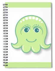 Octopus Spiral Notebooks