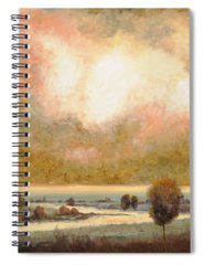 Pond Paintings Spiral Notebooks