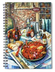Amber Spiral Notebooks