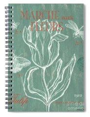 Scientific Illustration Spiral Notebooks