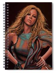 Mariah Carey Spiral Notebooks